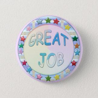 Great Job, Stars Round Achievement Button