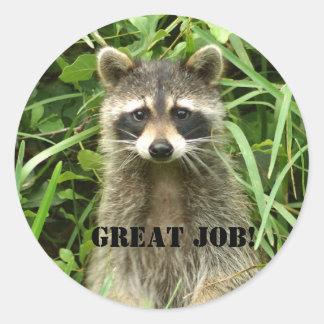 Great Job! Classic Round Sticker