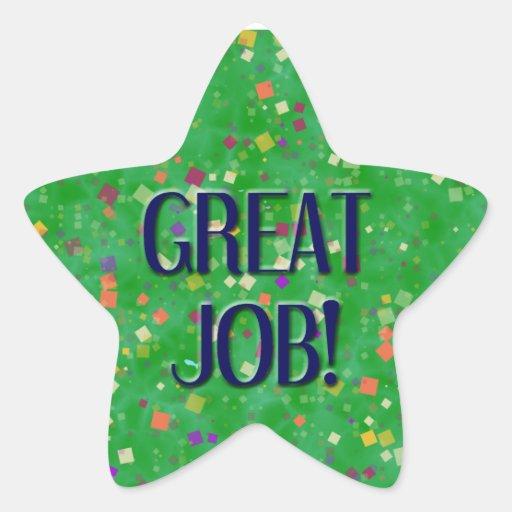 Amazing Great Job: GREAT JOB STICKERS
