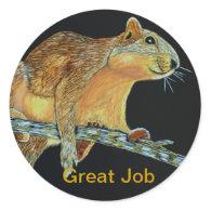 Great Job stickers