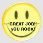 GREAT JOB!! yOU ROCK! Sticker