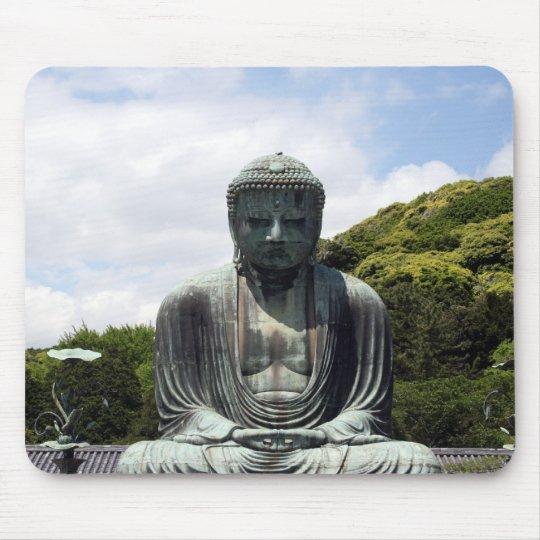 great kamakura buddha mouse pad