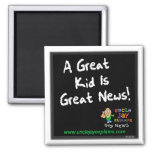 """Great Kid is Great News"" Magnet"