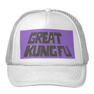 great kung fu trucker hat