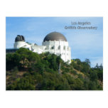 Great LA Griffith Observatory Postcard!