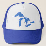 """Great Lakes Alone - Trucker Hat<br><div class=""""desc"""">Here&#39;s a great product that speaks to how you feel!</div>"""