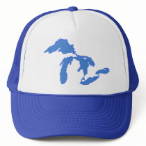 Great Lakes Alone - Trucker Hat