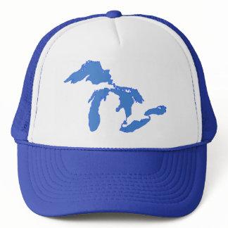 Great Lakes Alone - Trucker Hat