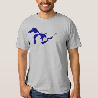 Great Lakes Blue T Shirt