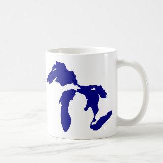 Great Lakes Coffee Mugs