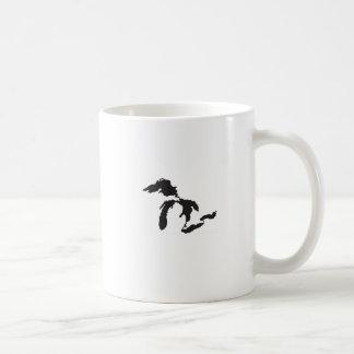 Great Lakes Custom Illustration Coffee Mug