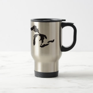 Great Lakes Custom Illustration Travel Mug