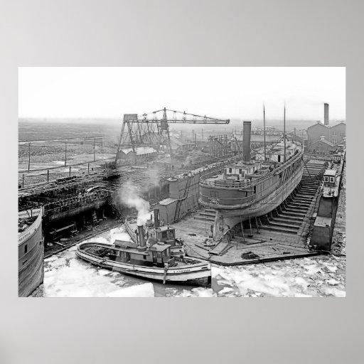 Great Lakes Engineering Works Posters