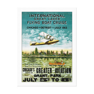 Great Lakes Flying Boat - XL Canvas Print