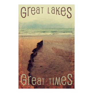 Great Lakes Great Times Poster