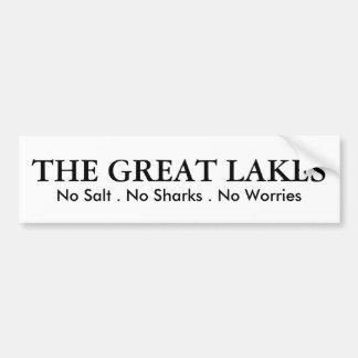Great Lakes - humor Pegatina Para Auto
