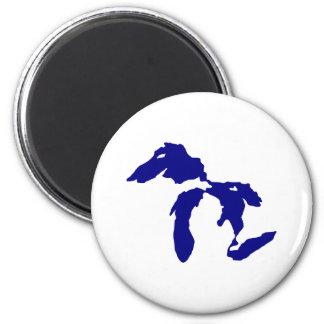Great Lakes Imán Redondo 5 Cm