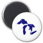 Great Lakes Imán Para Frigorífico