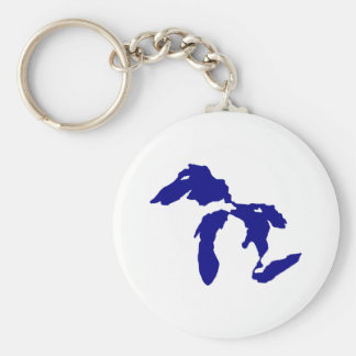 Great Lakes Keychain