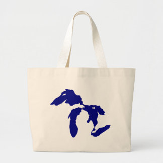 Great Lakes Large Tote Bag