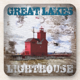 Great Lakes Lighthouse Drink Coaster
