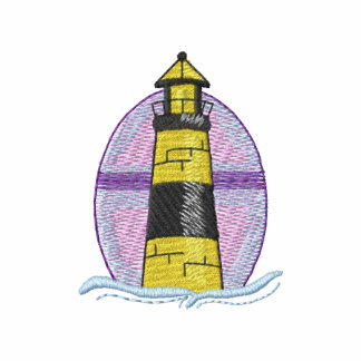 Great Lakes Lighthouse Embroidered Hoody