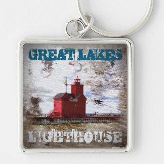 Great Lakes Lighthouse Keychain