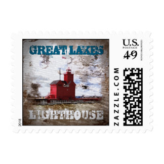 Great Lakes Lighthouse Postage