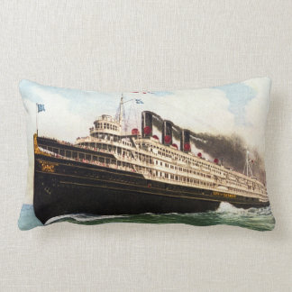Great Lakes Passenger Steamer City of Detroit III Pillows