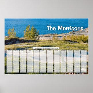 Great Lakes personalizaron el calendario del cumpl Póster