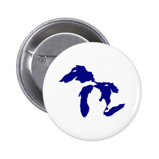 Great Lakes Pinback Button