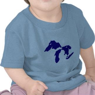 Great Lakes Camisetas