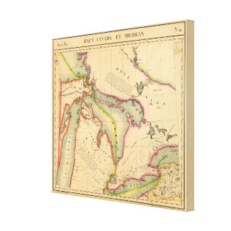 Great Lakes Region 42 Canvas Print