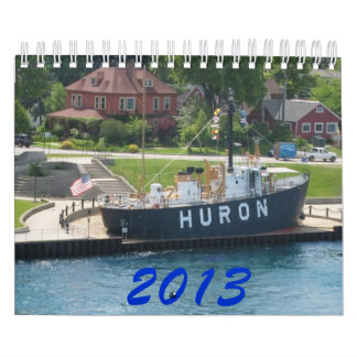 Great Lakes Ship watchers Calendar