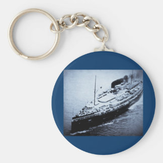 Great Lakes Steamer Eastern States Basic Round Button Keychain