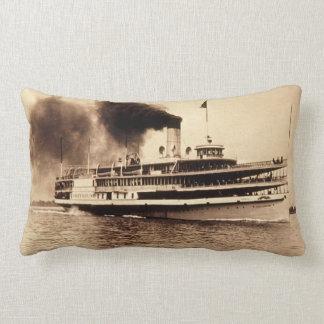 Great Lakes Steamer Greyhound Louis Pesha Pillow