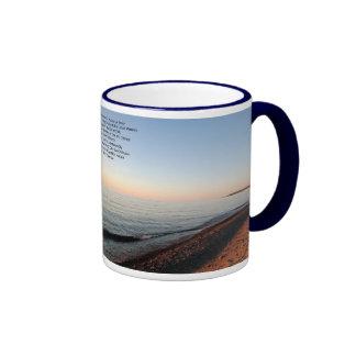Great Lakes Sunset Poetry Mug