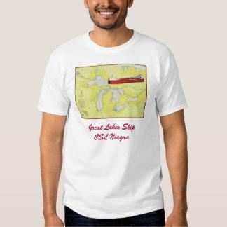 Great Lakes trazan con la camiseta de CSL Niagra Poleras