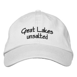 Great Lakes - unsalted Embroidered Baseball Hat