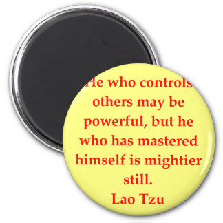 great Lao Tzu Quote 2 Inch Round Magnet