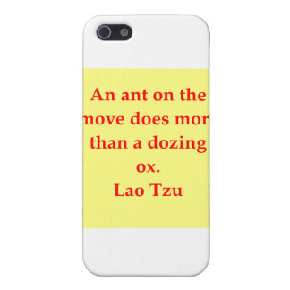 great Lao Tzu Quote iPhone 5/5S Cover