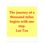 great Lao Tzu quote Post Card
