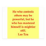great Lao Tzu Quote Postcards
