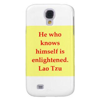 great Lao Tzu Quote Samsung Galaxy S4 Cover