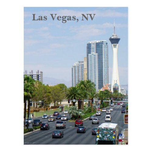 Great Las Vegas View Postcard Postcard