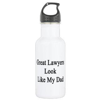 Great Lawyers Look Like My Dad 18oz Water Bottle