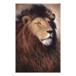 Great Lion Custom Stationery