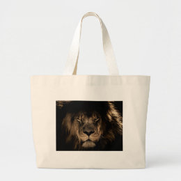 Great Lion Large Tote Bag