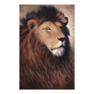 Great Lion Custom Stationery