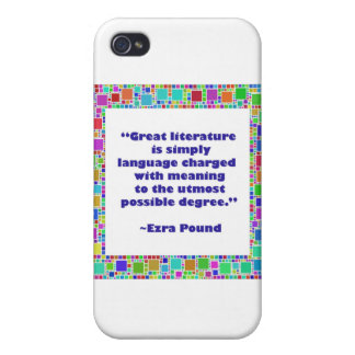 great literature cover for iPhone 4